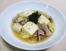 キャベツ豆腐 調理④