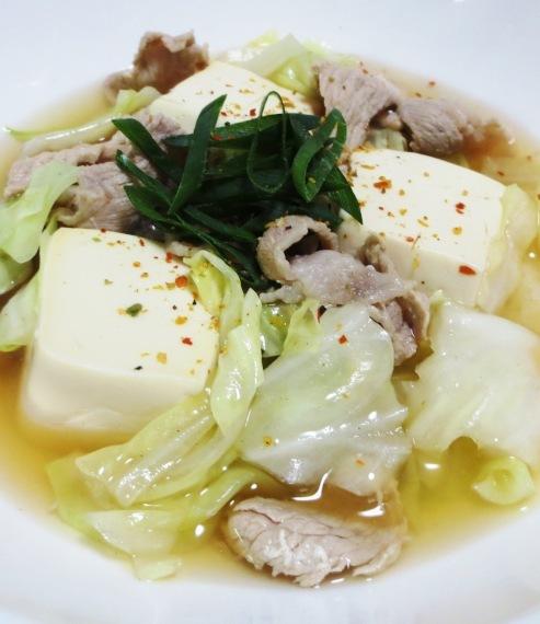 キャベツ豆腐 B
