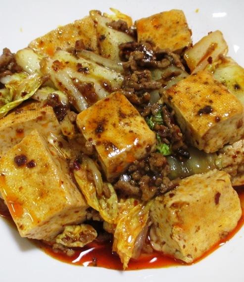 麻婆豆腐白菜 大②