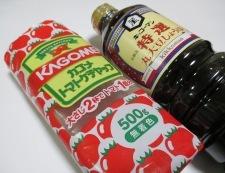 ソーセージのケチャップ醤油炒め 調味料