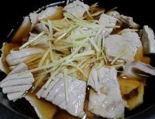 まぐろのアラの煮込み 調理②
