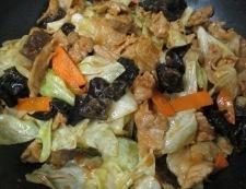 キクラゲの胡麻コチュジャン炒め 調理⑥