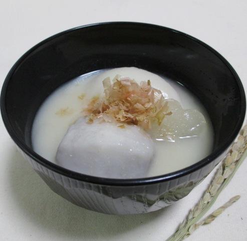 京風白味噌のお雑煮 大