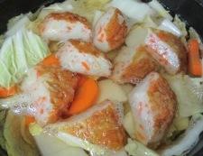 白菜野菜天 調理②