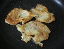 鶏皮 調理①