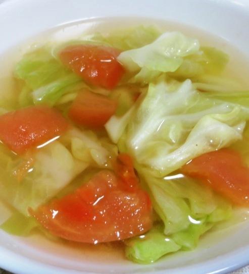 トマトとキャベツのスープ 大