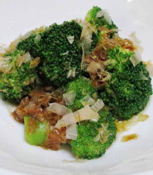 麺つゆブロッコリー 大