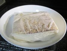 甘塩鮭と白菜の煮物 調理②