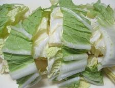 甘塩鮭と白菜の煮物 調理③