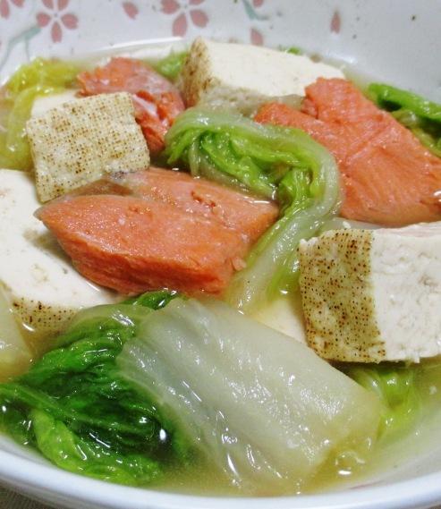 甘塩鮭と白菜の煮物 B