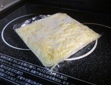 カレー焼きそば 調理①