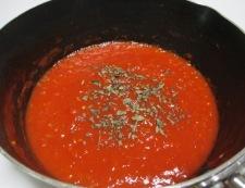 トマトソース 調理⑤