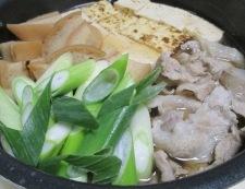 車麩と焼き豆腐の煮物 調理⑥