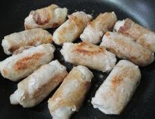 いんげんの豚ロース巻き 調理⑤