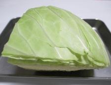 肉味噌キャベツ 材料②