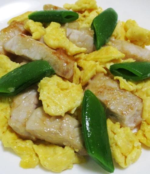 メカジキと卵のうまコク炒め B