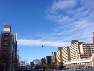 不思議な雲が