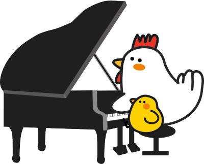 トリとピアノ