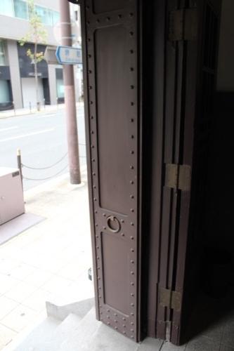0184:新井ビル 上階テナント入口扉