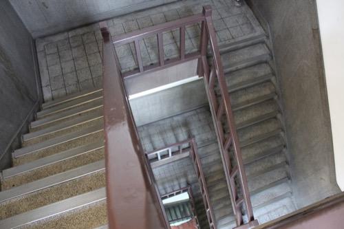 0184:新井ビル 螺旋階段②