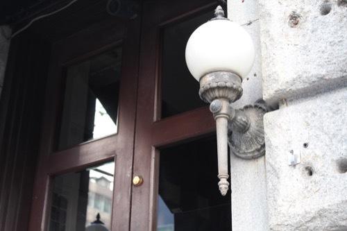 0184:新井ビル GOKAN入口のランプデザイン