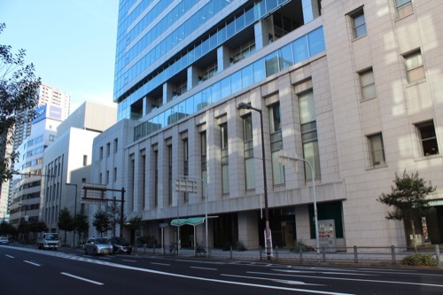 0185:大阪証券取引所 土佐堀通から①