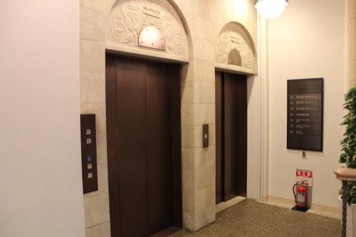 0195:旧大林組本店 エレベーターホール③