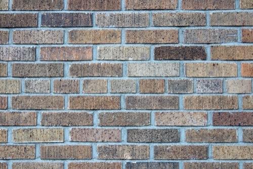 0196:ダイビル本館 スクラッチ煉瓦のファサード