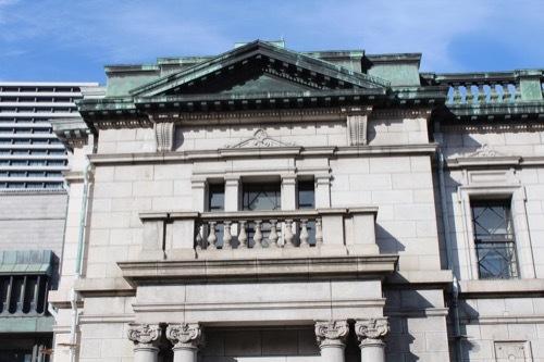 0198:日本銀行大阪支店 旧館側部外観④
