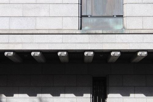 0198:日本銀行大阪支店 新館の様子③