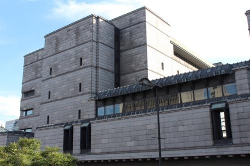 0198:日本銀行大阪支店 新館の様子⑥