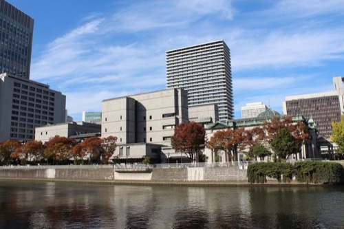 0198:日本銀行大阪支店 土佐堀側の南岸より