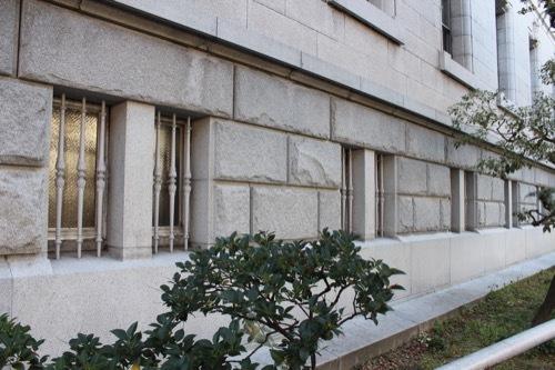 0199:府立中之島図書館 増築部壁面のファサード③