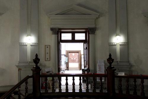 0199:府立中之島図書館 中央ホール④