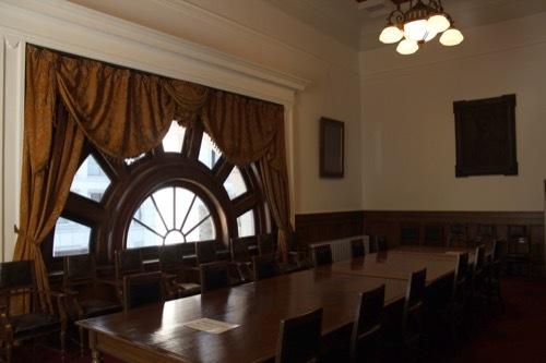 0199:府立中之島図書館 記念室②