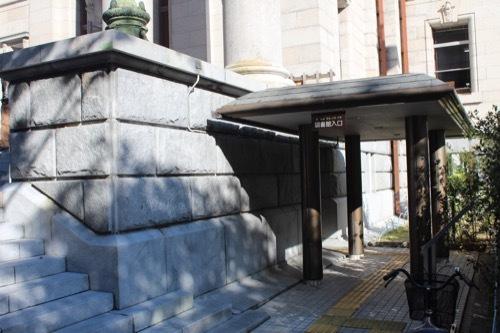 0199:府立中之島図書館 図書館入口