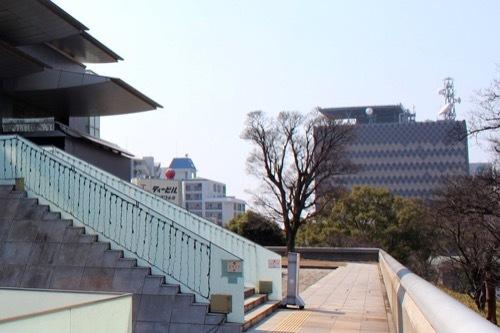 0202:和歌山県庁南別館 近代美術館から