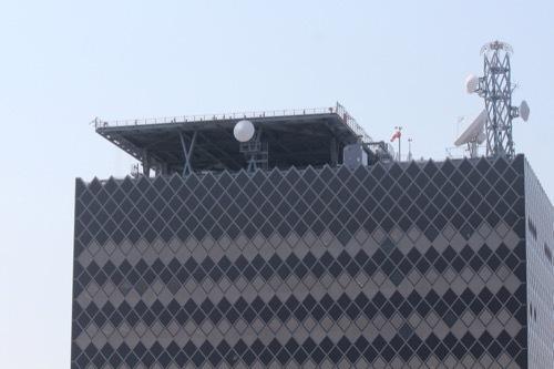 0202:和歌山県庁南別館 上部分を撮影