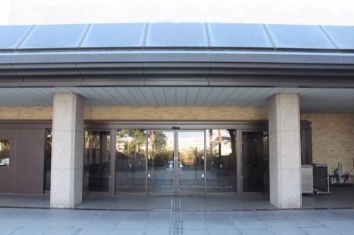 0208:三重県立美術館 玄関