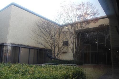 0208:三重県立美術館 廊下からの眺め