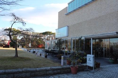 0208:三重県立美術館 南のカフェスペース