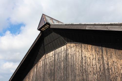 0210:海の博物館 展示棟の屋根部分