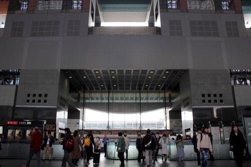 0211:JR京都駅ビル 中央コンコース②