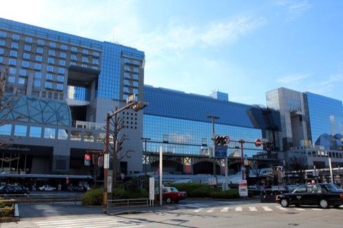 0211:JR京都駅ビル 外観全景①