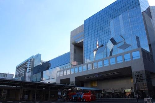 0211:JR京都駅ビル 外観全景②