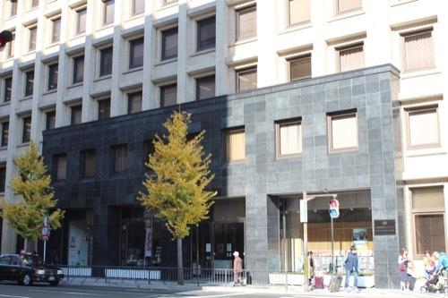 0213:関電京都支店 玄関部分①
