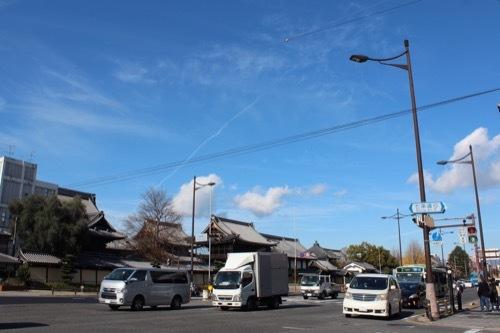 0215:西利本店 堀川通と西本願寺