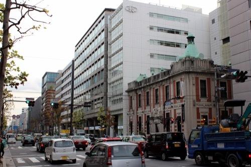 0217:旧北國銀行京都支店 烏丸通から①