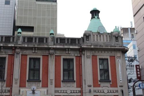 0217:旧北國銀行京都支店 烏丸側外観②