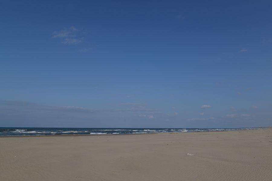 砂浜 冬の前-2